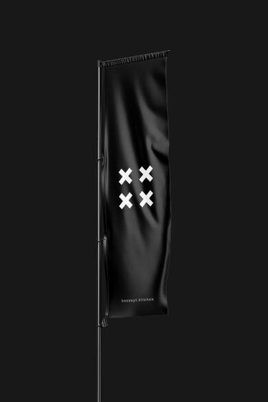 Bossuyt vertical sail flag mockup lores