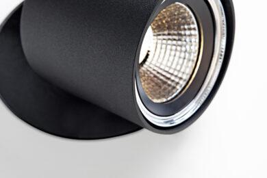 Chapeau couvreur devos armatuur modular detail 1x LED 800lm GE Blstr TRIMLESS