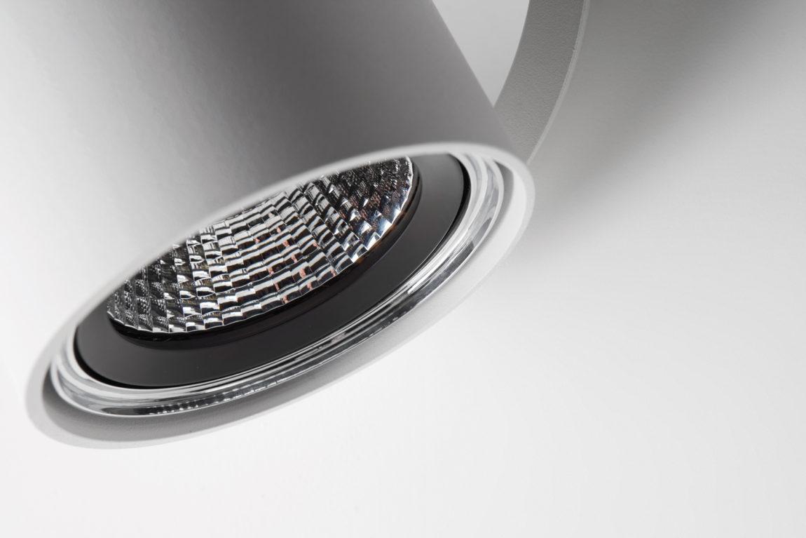 Chapeau detail 1x LED 800lm GE Whstr 3