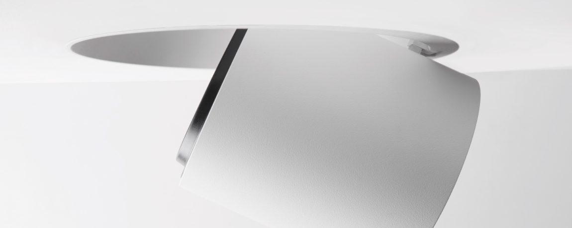 Couvreur devos armatuur modular chapeau detail 1x LED 800lm GE Whstr 5 TRIMLESS