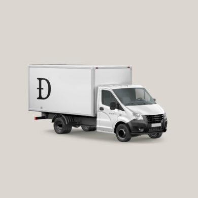 D Box Truck v1 WHITE square