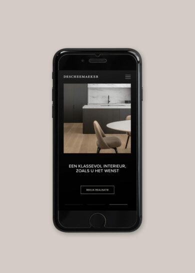 D Iphone website v1 story