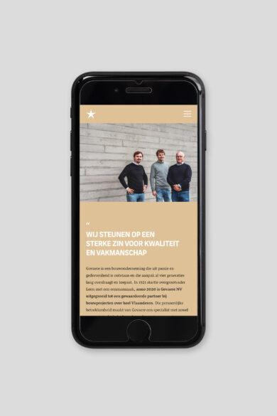 Govaere Iphone website v1 lores