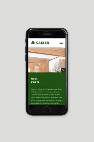 Kaizer Iphone website v1 lores