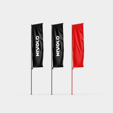 Nivolo vertical sail flag mockup v2 square