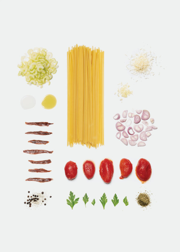 Spghetti tomato anchovy v1