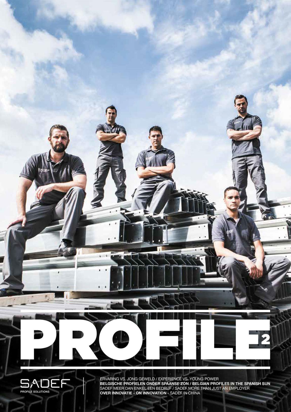 Sadef Profle magazine cover 15
