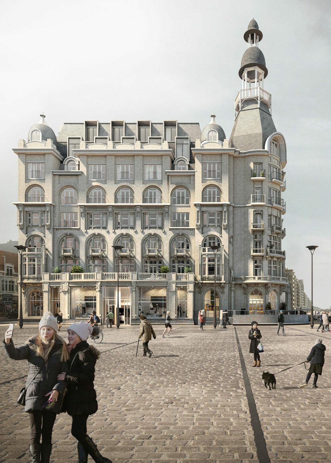 P1509 VDD The Grand Nieuwpoort Cam Old Time Square HR 20201218